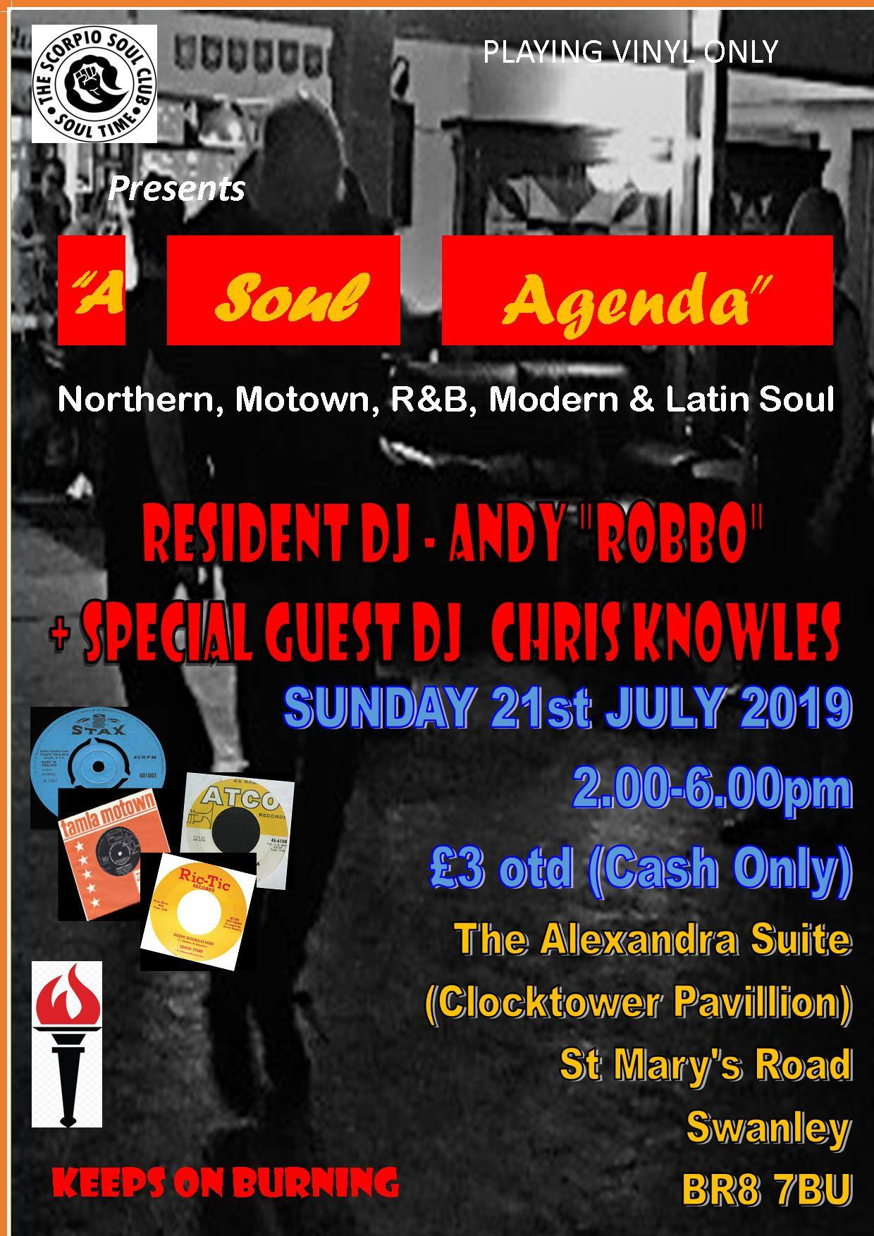"Scorpio Soul Club""A Soul Agenda"" @ The Alexandra Suite"
